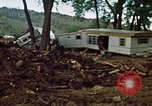 Image of wrecked trailer homes Rapid City South Dakota USA, 1972, second 17 stock footage video 65675052518
