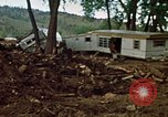 Image of wrecked trailer homes Rapid City South Dakota USA, 1972, second 19 stock footage video 65675052518