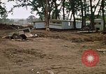 Image of wrecked trailer homes Rapid City South Dakota USA, 1972, second 26 stock footage video 65675052518