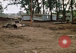 Image of wrecked trailer homes Rapid City South Dakota USA, 1972, second 27 stock footage video 65675052518