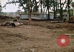 Image of wrecked trailer homes Rapid City South Dakota USA, 1972, second 28 stock footage video 65675052518