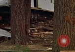 Image of wrecked trailer homes Rapid City South Dakota USA, 1972, second 39 stock footage video 65675052518