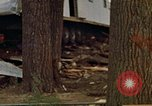 Image of wrecked trailer homes Rapid City South Dakota USA, 1972, second 41 stock footage video 65675052518