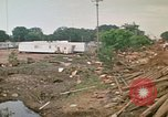 Image of wrecked trailer homes Rapid City South Dakota USA, 1972, second 59 stock footage video 65675052518