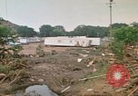 Image of wrecked trailer homes Rapid City South Dakota USA, 1972, second 60 stock footage video 65675052518
