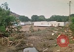 Image of wrecked trailer homes Rapid City South Dakota USA, 1972, second 61 stock footage video 65675052518