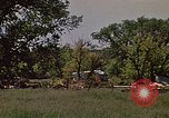 Image of wrecked trailer home Rapid City South Dakota USA, 1972, second 2 stock footage video 65675052543