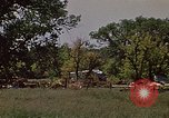 Image of wrecked trailer home Rapid City South Dakota USA, 1972, second 4 stock footage video 65675052543