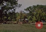 Image of wrecked trailer home Rapid City South Dakota USA, 1972, second 5 stock footage video 65675052543