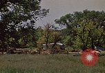Image of wrecked trailer home Rapid City South Dakota USA, 1972, second 7 stock footage video 65675052543