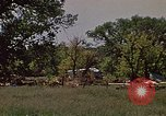 Image of wrecked trailer home Rapid City South Dakota USA, 1972, second 8 stock footage video 65675052543