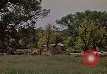 Image of wrecked trailer home Rapid City South Dakota USA, 1972, second 9 stock footage video 65675052543