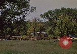 Image of wrecked trailer home Rapid City South Dakota USA, 1972, second 10 stock footage video 65675052543