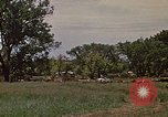 Image of wrecked trailer home Rapid City South Dakota USA, 1972, second 16 stock footage video 65675052543