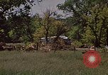 Image of wrecked trailer home Rapid City South Dakota USA, 1972, second 24 stock footage video 65675052543