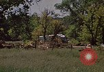 Image of wrecked trailer home Rapid City South Dakota USA, 1972, second 25 stock footage video 65675052543