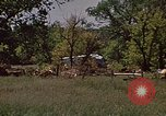 Image of wrecked trailer home Rapid City South Dakota USA, 1972, second 26 stock footage video 65675052543