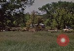 Image of wrecked trailer home Rapid City South Dakota USA, 1972, second 27 stock footage video 65675052543
