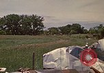 Image of wrecked trailer home Rapid City South Dakota USA, 1972, second 32 stock footage video 65675052543