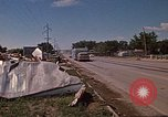 Image of wrecked trailer home Rapid City South Dakota USA, 1972, second 48 stock footage video 65675052543