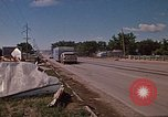 Image of wrecked trailer home Rapid City South Dakota USA, 1972, second 49 stock footage video 65675052543