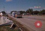 Image of wrecked trailer home Rapid City South Dakota USA, 1972, second 50 stock footage video 65675052543