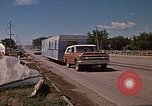 Image of wrecked trailer home Rapid City South Dakota USA, 1972, second 51 stock footage video 65675052543