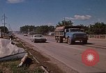 Image of wrecked trailer home Rapid City South Dakota USA, 1972, second 54 stock footage video 65675052543
