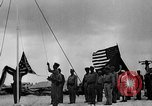 Image of Marine officers Wake Island Pacific Ocean, 1945, second 7 stock footage video 65675052562