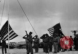 Image of Marine officers Wake Island Pacific Ocean, 1945, second 9 stock footage video 65675052562