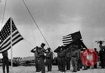 Image of Marine officers Wake Island Pacific Ocean, 1945, second 10 stock footage video 65675052562
