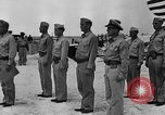 Image of Marine officers Wake Island Pacific Ocean, 1945, second 14 stock footage video 65675052562