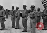 Image of Marine officers Wake Island Pacific Ocean, 1945, second 15 stock footage video 65675052562