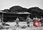 Image of Marine officers Wake Island Pacific Ocean, 1945, second 19 stock footage video 65675052562