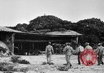 Image of Marine officers Wake Island Pacific Ocean, 1945, second 20 stock footage video 65675052562
