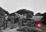 Image of Marine officers Wake Island Pacific Ocean, 1945, second 22 stock footage video 65675052562