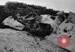 Image of Marine officers Wake Island Pacific Ocean, 1945, second 23 stock footage video 65675052562