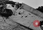 Image of Marine officers Wake Island Pacific Ocean, 1945, second 26 stock footage video 65675052562