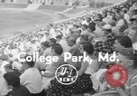 Image of college lacrosse game College Park Maryland USA, 1955, second 5 stock footage video 65675052568