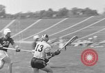 Image of college lacrosse game College Park Maryland USA, 1955, second 18 stock footage video 65675052568