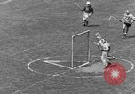 Image of college lacrosse game College Park Maryland USA, 1955, second 45 stock footage video 65675052568