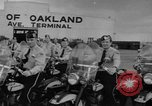 Image of Oakland Motorcycle Drill Team Oakland California USA, 1955, second 5 stock footage video 65675052569