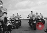 Image of Oakland Motorcycle Drill Team Oakland California USA, 1955, second 14 stock footage video 65675052569