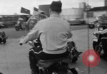 Image of Oakland Motorcycle Drill Team Oakland California USA, 1955, second 16 stock footage video 65675052569