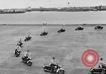Image of Oakland Motorcycle Drill Team Oakland California USA, 1955, second 22 stock footage video 65675052569