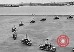 Image of Oakland Motorcycle Drill Team Oakland California USA, 1955, second 23 stock footage video 65675052569