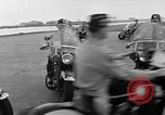 Image of Oakland Motorcycle Drill Team Oakland California USA, 1955, second 25 stock footage video 65675052569