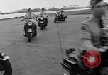 Image of Oakland Motorcycle Drill Team Oakland California USA, 1955, second 28 stock footage video 65675052569