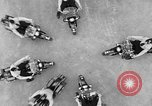 Image of Oakland Motorcycle Drill Team Oakland California USA, 1955, second 32 stock footage video 65675052569