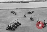 Image of Oakland Motorcycle Drill Team Oakland California USA, 1955, second 39 stock footage video 65675052569